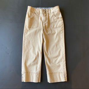 Jag Jeans size 6 women's Khaki tan Capris Pants